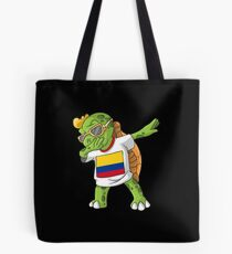 Colombia Dabbing Turtle Tote bag