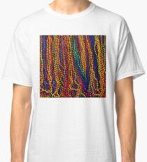 Camiseta clásica MARDI GRAS: estampado de perlas de colores