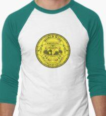 WWF Big Green Belt Baseball ¾ Sleeve T-Shirt