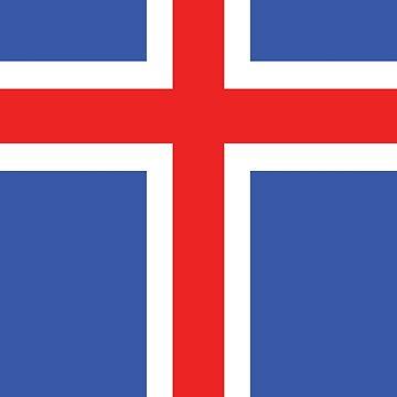 Flag of Iceland by designseventy