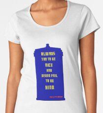 Twelfth Doctor Last Words 2 Women's Premium T-Shirt