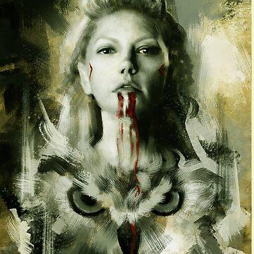 vikings queen lagertha by 3rdeyegirl