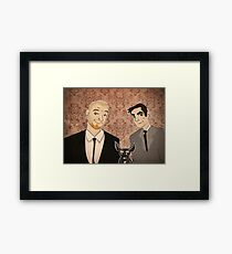 White Boys  Framed Print