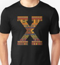 Malcolm X, Black History Month, African Print Unisex T-Shirt