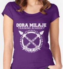 Dora Milaje Training Academy Class of 2018 Women's Fitted Scoop T-Shirt