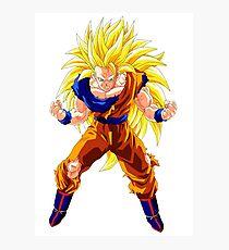 Goku SSJ3 DBZ Photographic Print