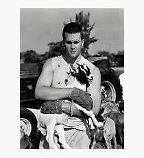 Tom Brady The Goat (High Definition B&W) Photographic Print
