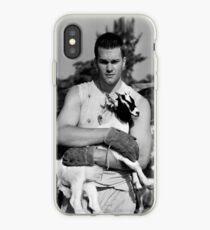Tom Brady The Goat (High Definition B&W) iPhone Case