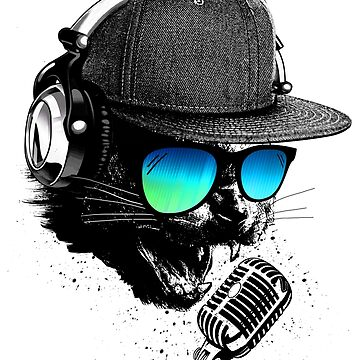 Rocker Cat by moncheng