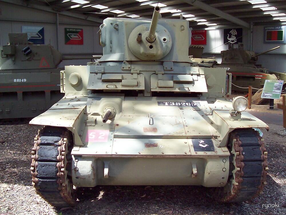 M3 Stuart light tank by rynoki