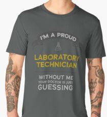 Proud Medical Laboratory Scientist - funny lab tech Men's Premium T-Shirt