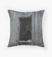 Mattress Spring Window Throw Pillow