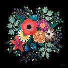 Summer Blooms no.2 by Lisafrancesjudd