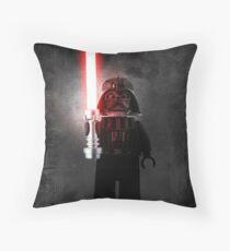 Darth Vader - Star wars lego digital art.  Throw Pillow