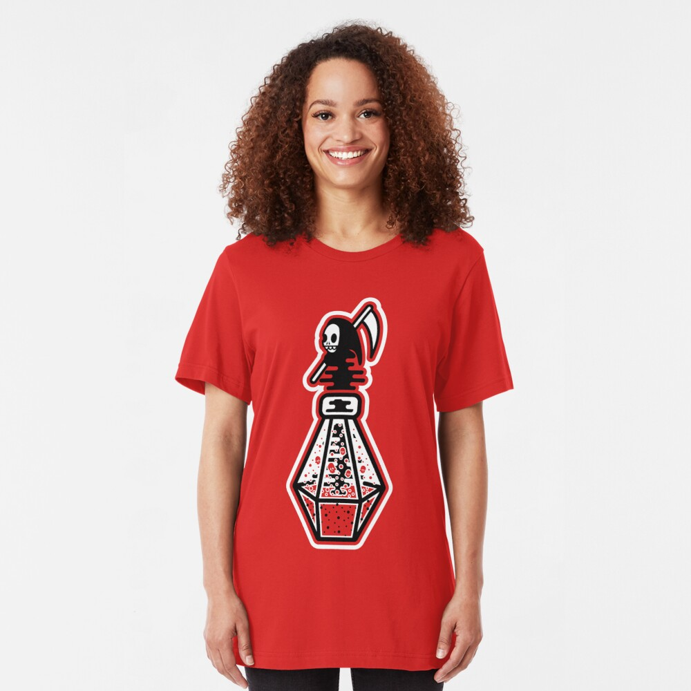Death Potion Slim Fit T-Shirt