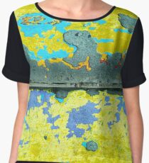 Concrete Cartography Chiffon Top