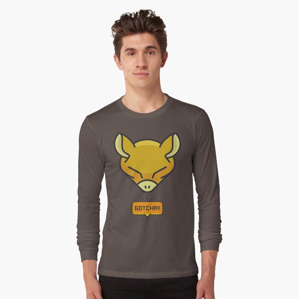 76fc434618 Camiseta «Gotcha atrapando a Abra Pokemon» de annawoodz