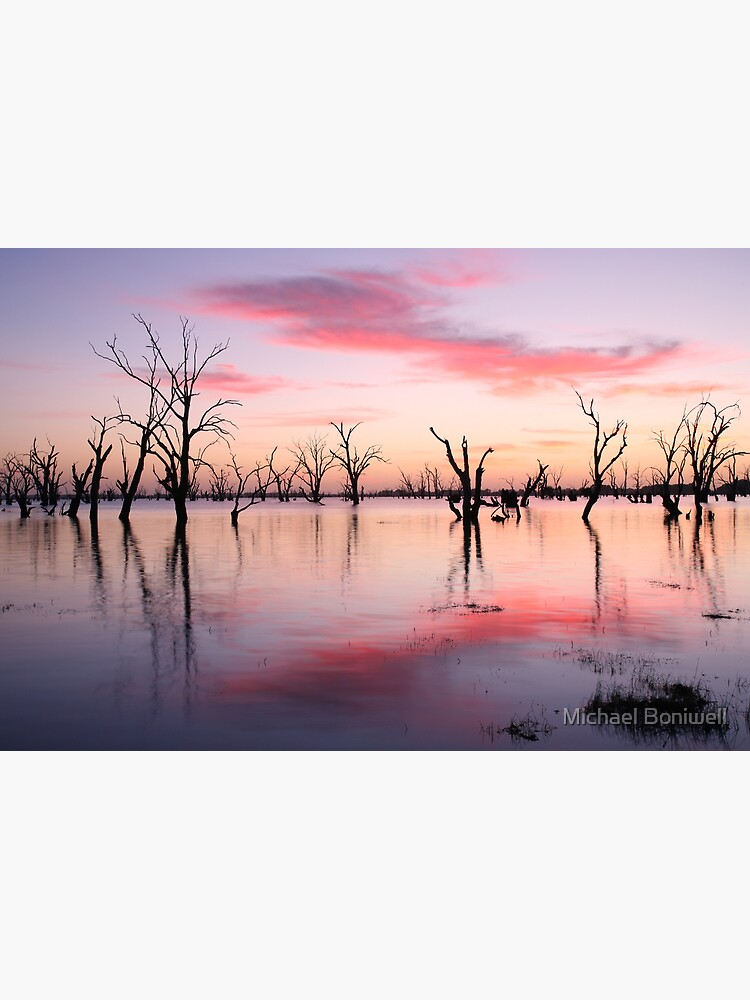 Lake Victoria Dawn, Australia by Chockstone