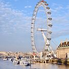 London Eye by ANDREW BARKE