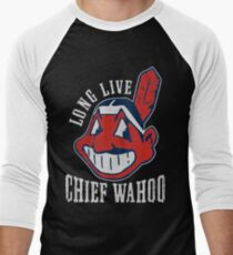 Chief wahoo Men's Baseball ¾ T-Shirt