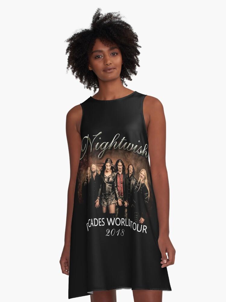 Decade World Tour A-Line Dress Front
