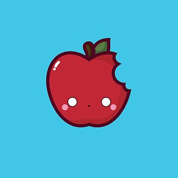 Kawaii apple by spilu