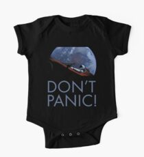 Spacex DON'T PANIC One Piece - Short Sleeve