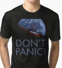 Spacex DON'T PANIC Tri-blend T-Shirt