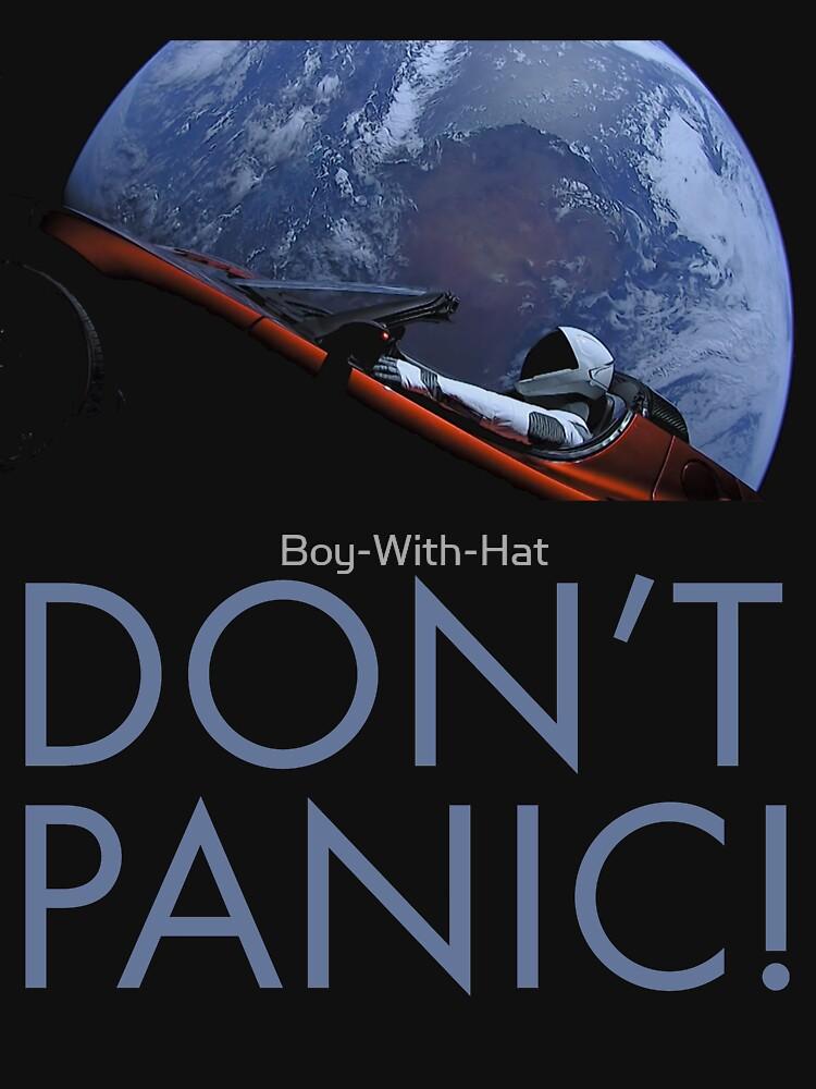 Spacex Keine Panik von Boy-With-Hat