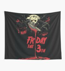 Friday The 13th The Design Wall Tapestry
