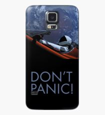 Spacex DON'T PANIC Case/Skin for Samsung Galaxy