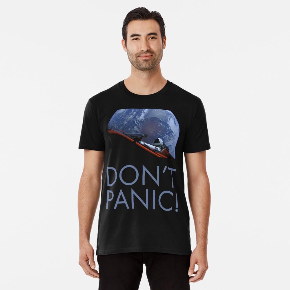 Spacex Keine Panik Premium T-Shirt