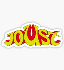 Joust Arcade Sticker