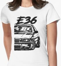 """E36 """"Dirty Style"""" Women's Fitted T-Shirt"""