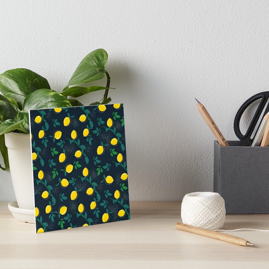 Zitrone Galeriedruck