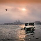 The Evening Vaporetto by Viv Thompson
