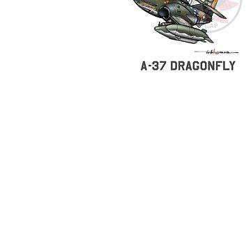 VNAF A-37 Scorpion 528th Sq. Da-Nang (top right) by ACVuConcepts