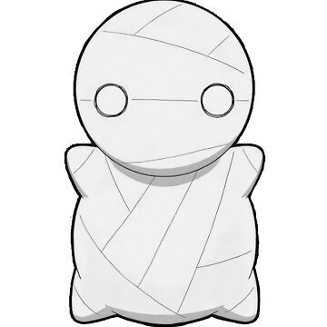 Mii-Kun / Mii Kun (How to Keep a Mummy) Sticker by limbo