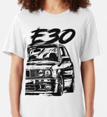"""E30 """"Dirty Style"""" Slim Fit T-Shirt"""