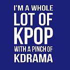 A LOT OF KPOP - BLUE by Kpop Seoul Shop