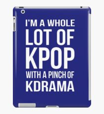 A LOT OF KPOP - BLUE iPad Case/Skin