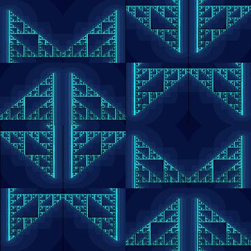 Blue Iterations by scholara