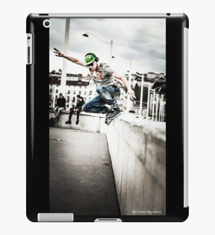 The fool roller Skater  iPad Case/Skin