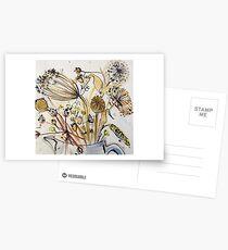 Dried Flowers Postcards