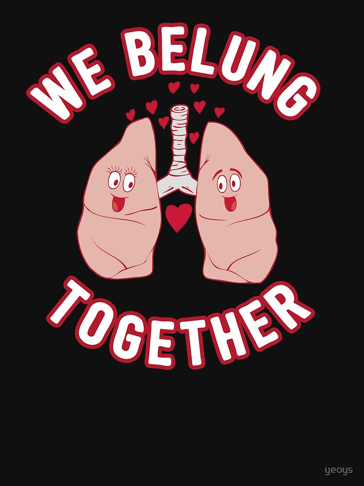 We Belung Together - Funny Doctor Pun Gift von yeoys