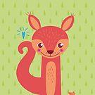 Little Squirrel by feigenherz