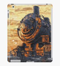 Old Train Painting iPad Case/Skin