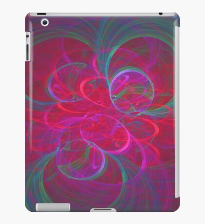 Orbital fractals iPad Case/Skin