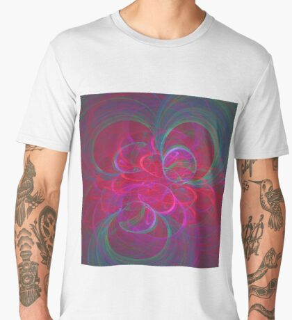 Orbital fractals Men's Premium T-Shirt
