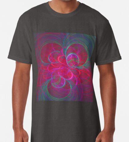 Orbital fractals Long T-Shirt